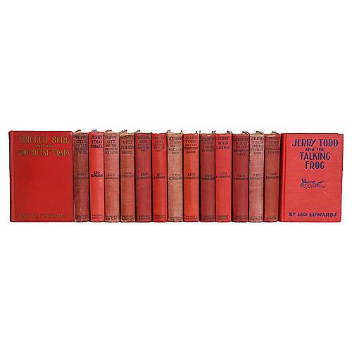 Vintage Red Leo Edwards Stories for Teen