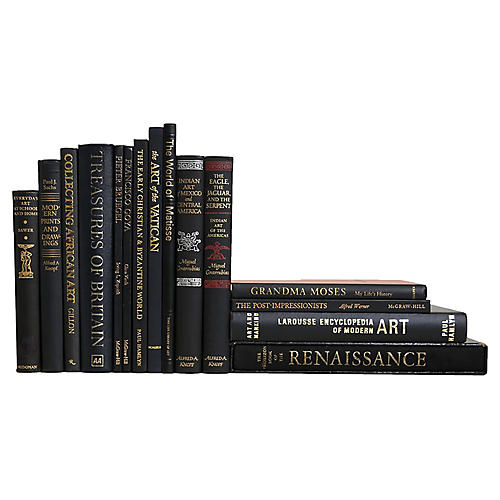 Art From Around The World Luxe Book Set
