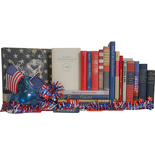 The Story of America Book Set, S/20