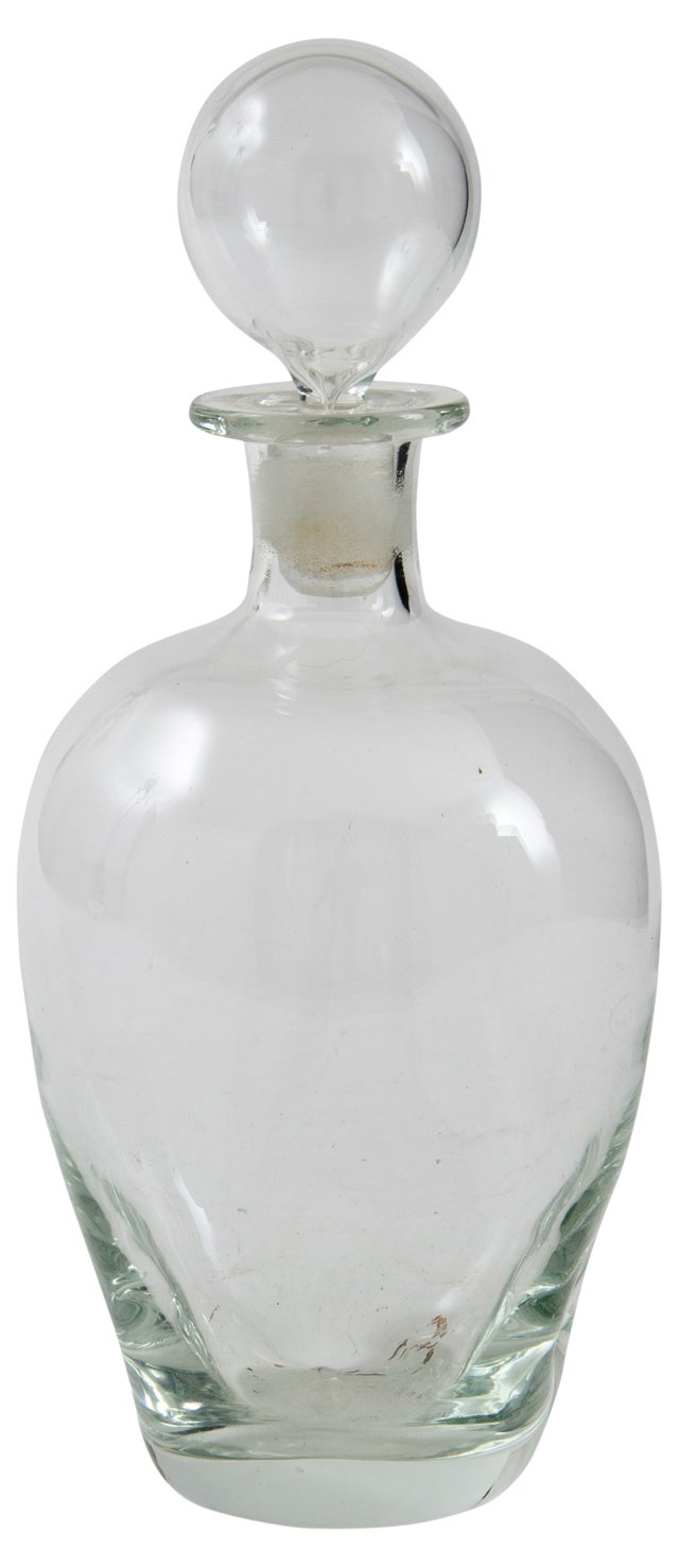 Italian Glass Decanter