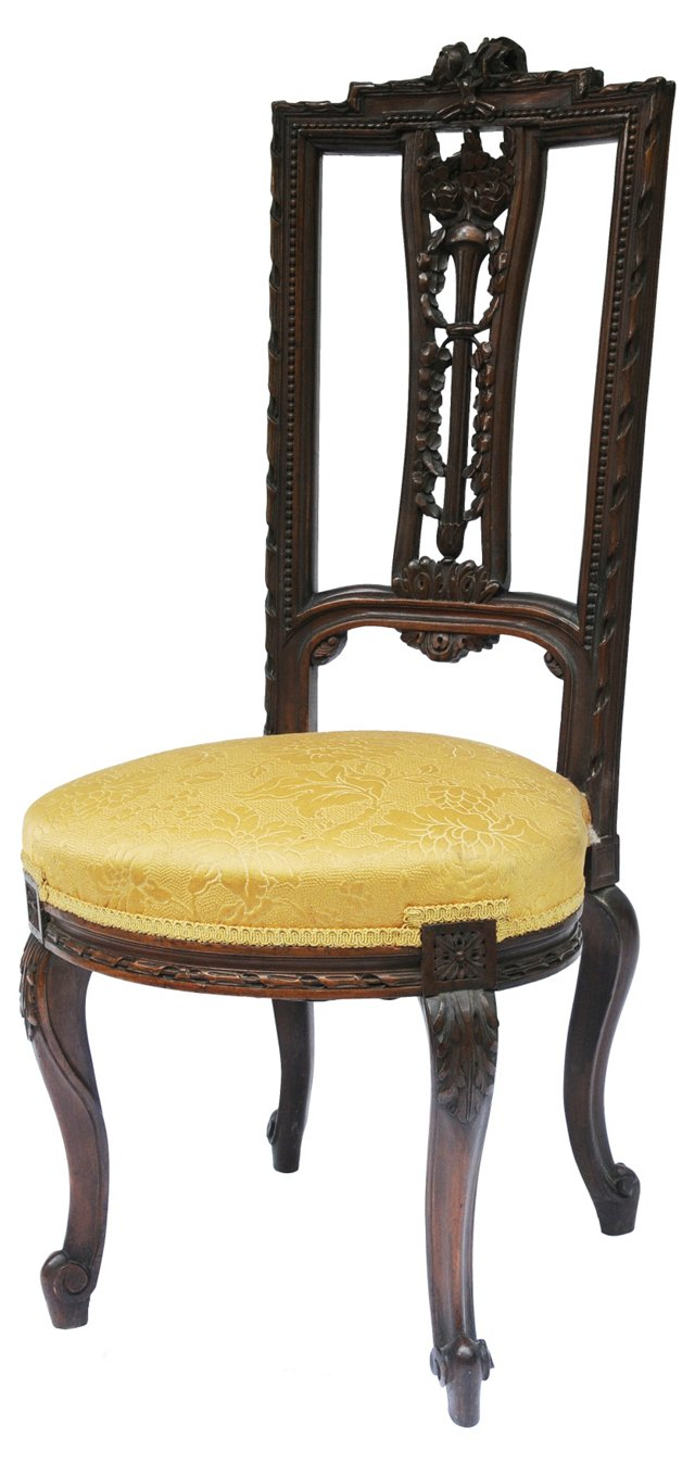 Victorian-Style  Side Chair