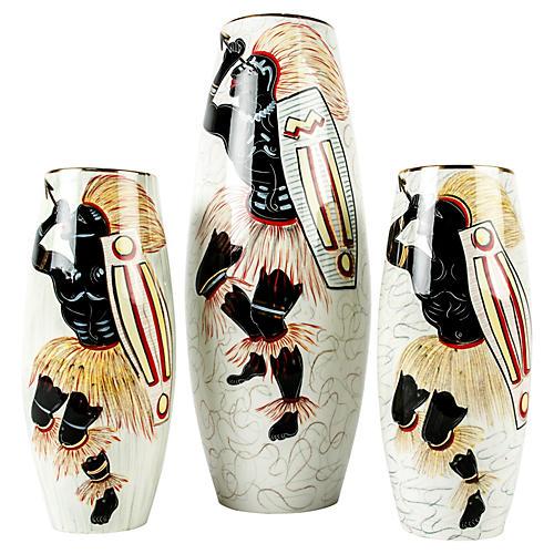 Decorative Vases, S/3