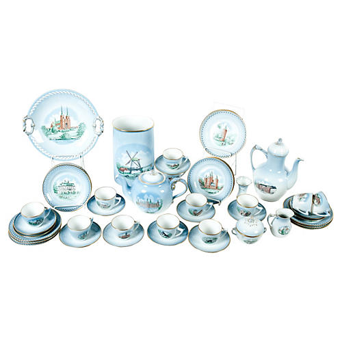 Danish Tea & Coffee Set, 43-Pcs