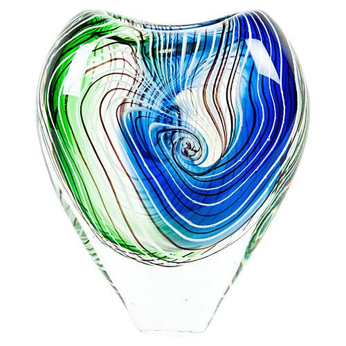 Mid-Century Modern Art Deco Style Vase