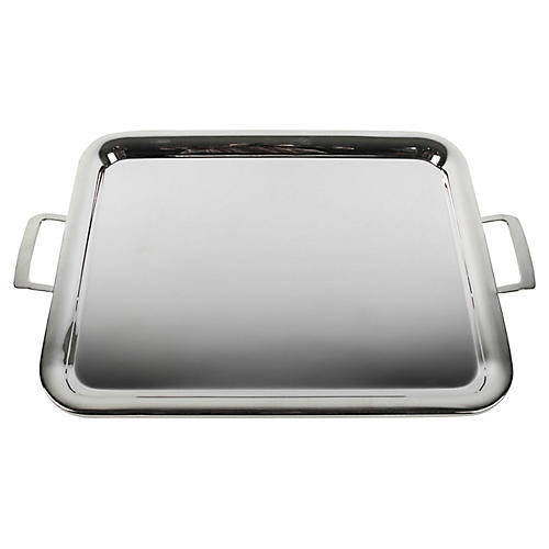 English Silver-Plate Tray