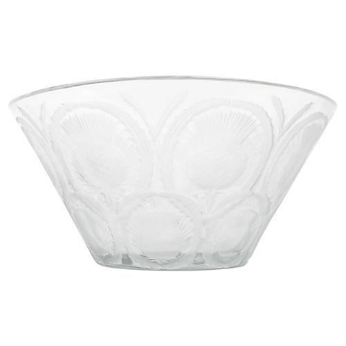 French Lalique Centerpiece Bowl