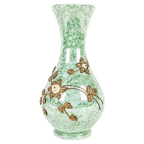 Antique French Art Glass Vase