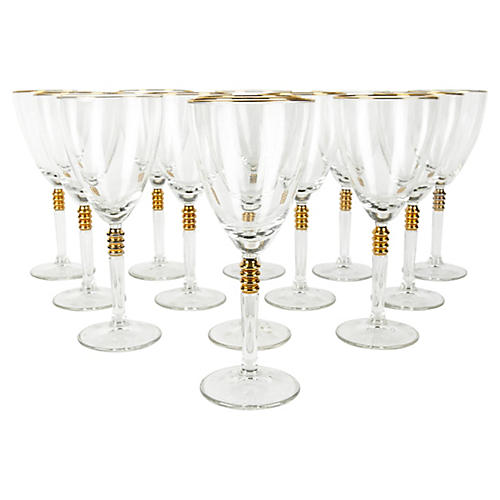 Crystal Glasses, S/13