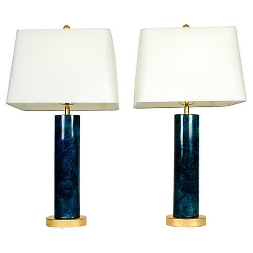 Slim Jade Lamps
