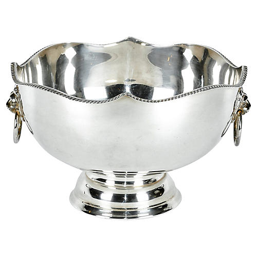 English Sheffield Plated Wine Cooler