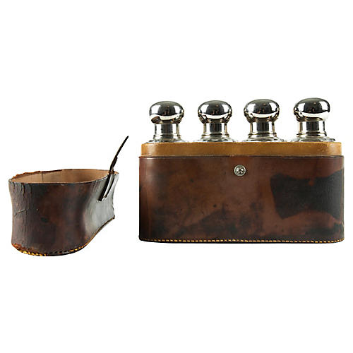 Antique Perfume Bottle Set