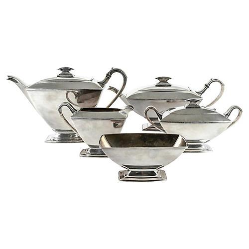 Vintage Silver Plate Tea/Coffee Service