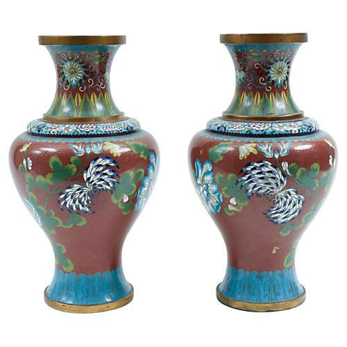 Late 19th-C Decorative Pieces, Pair