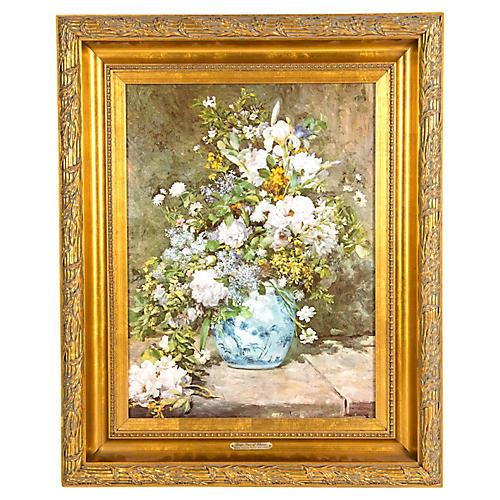Mid 20th Century Oil Painting .