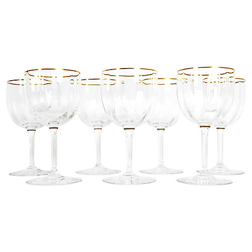 20th Century Baccarat Crystal Glassware