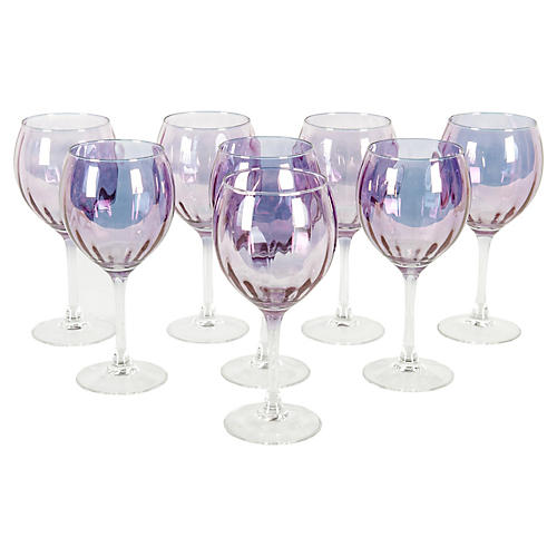 French Wine Glass For Eight People