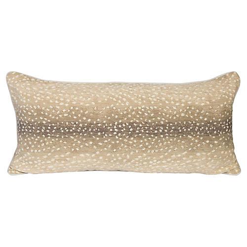 Stone Antelope Lumbar Pillow
