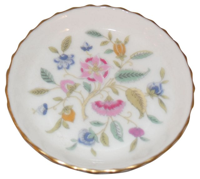 English Bone China Vanity Dish