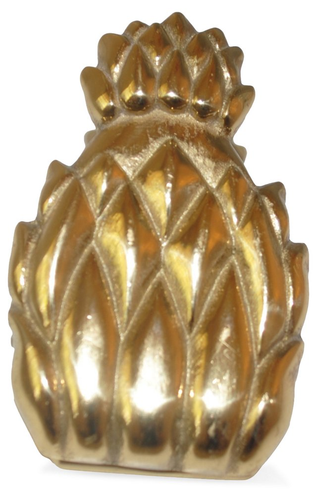 Brass Pineapple Desk Clip