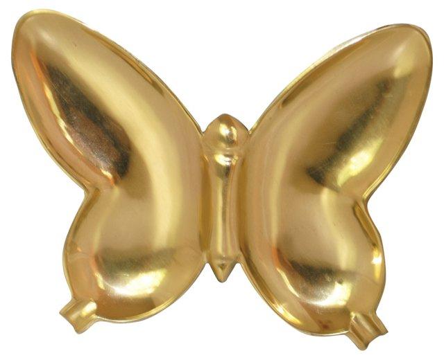 Brass Butterfly   Tray