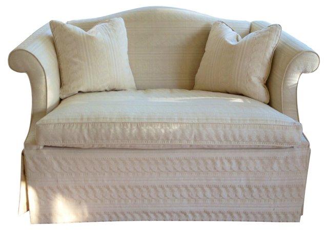 Hancock & Moore Settee w/ Pillows