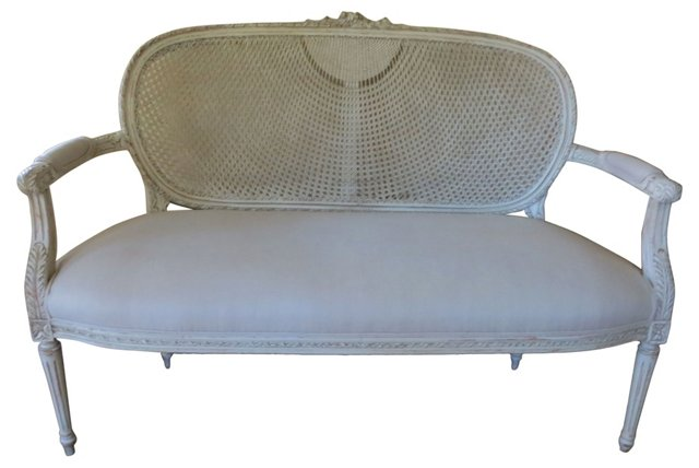 Cane-Back   Settee