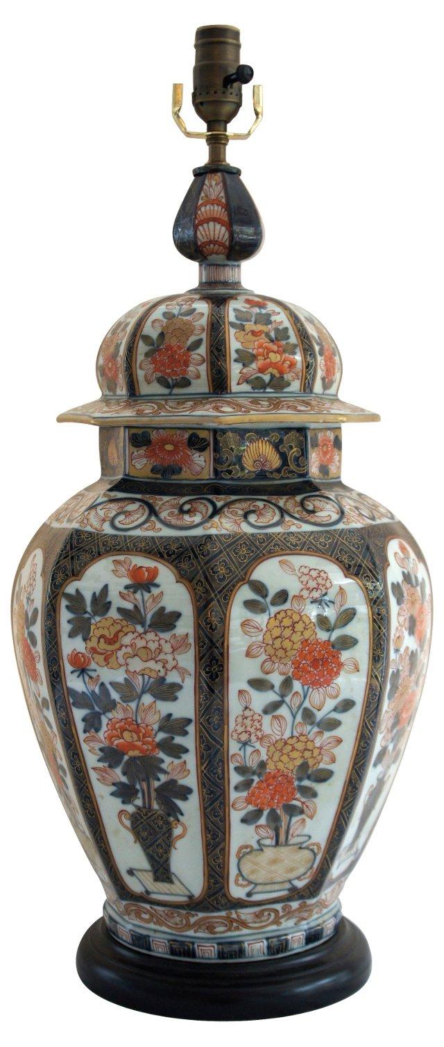 Asian Ceramic Lamp