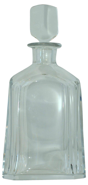 Orrefors Crystal Decanter w/ Stopper
