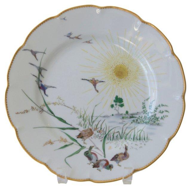 Haviland Limoges Summer Plate