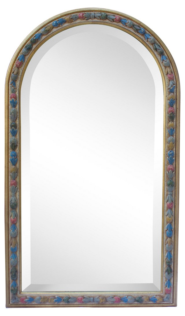 Colorful Floral Mirror