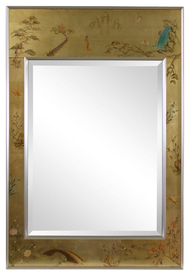 Chinoiserie Mirror by LaBarge