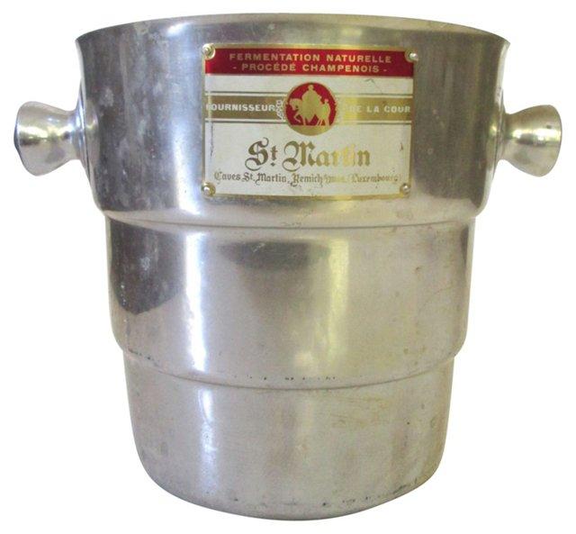 French St. Martin Champagne Bucket