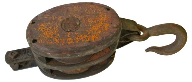 Iron    Industrial Pulley