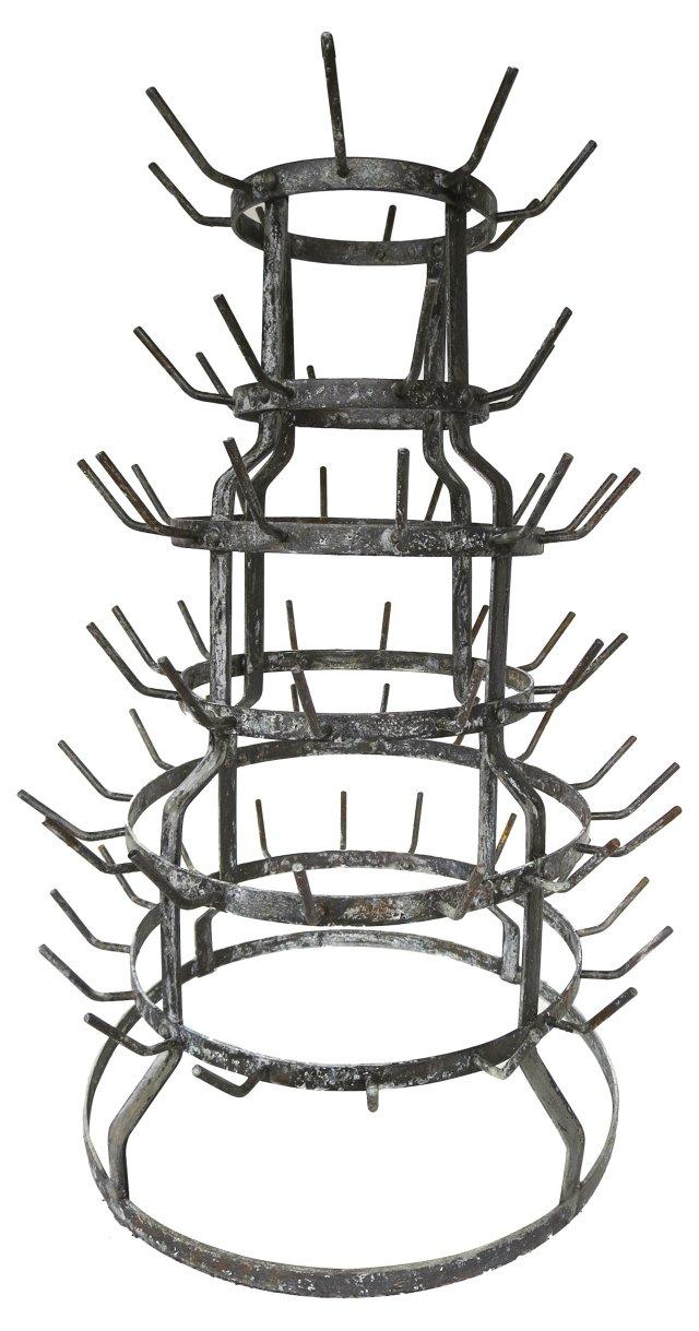 French Vintner's Drying Rack