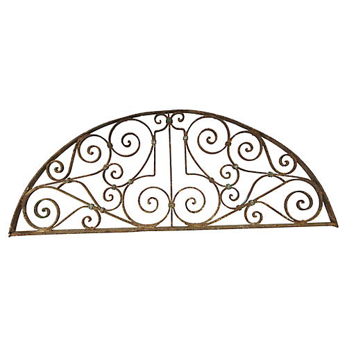 "55"" French Architectural Iron Arch"