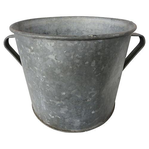 French Zinc Planter