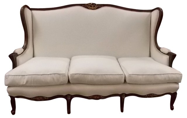French Louis XV-Style Sofa