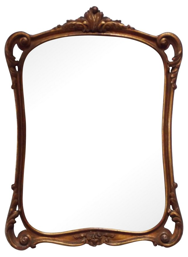 1900s French Mirror