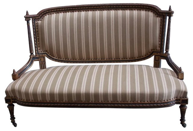 18th-C. French Settee