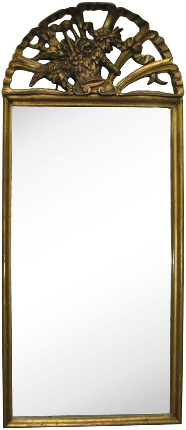French Giltwood Mirror, C. 1900