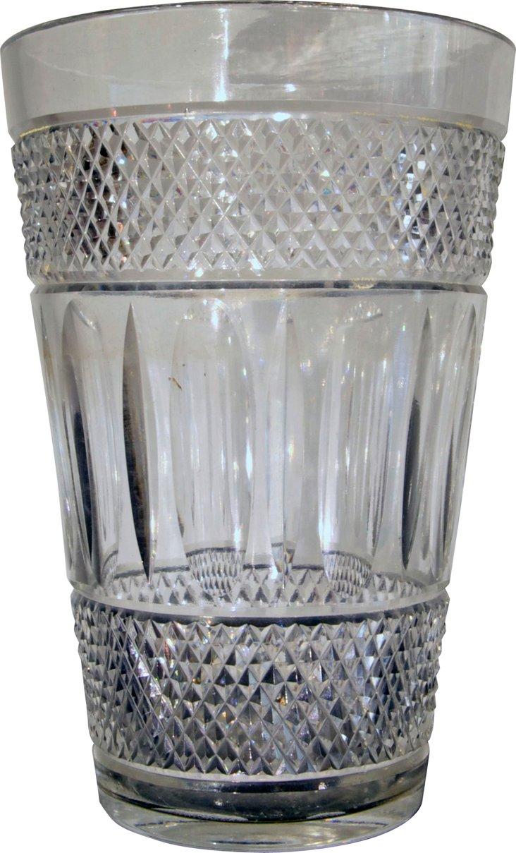 English Crystal Vase