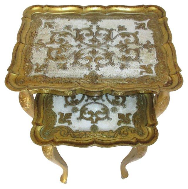 Italian Nesting Tables, S/2