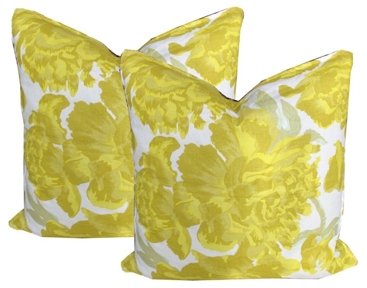 Christopher Farr Pillows, Pair
