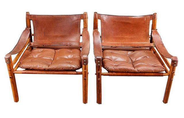 Arne Norell  Chairs, Pair