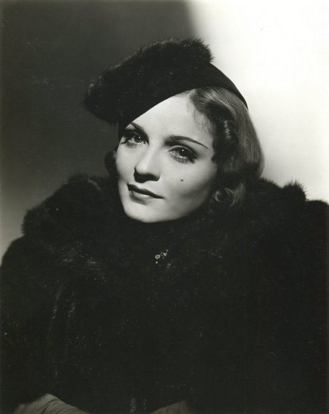 George Hurrell Portrait of Anna Sten