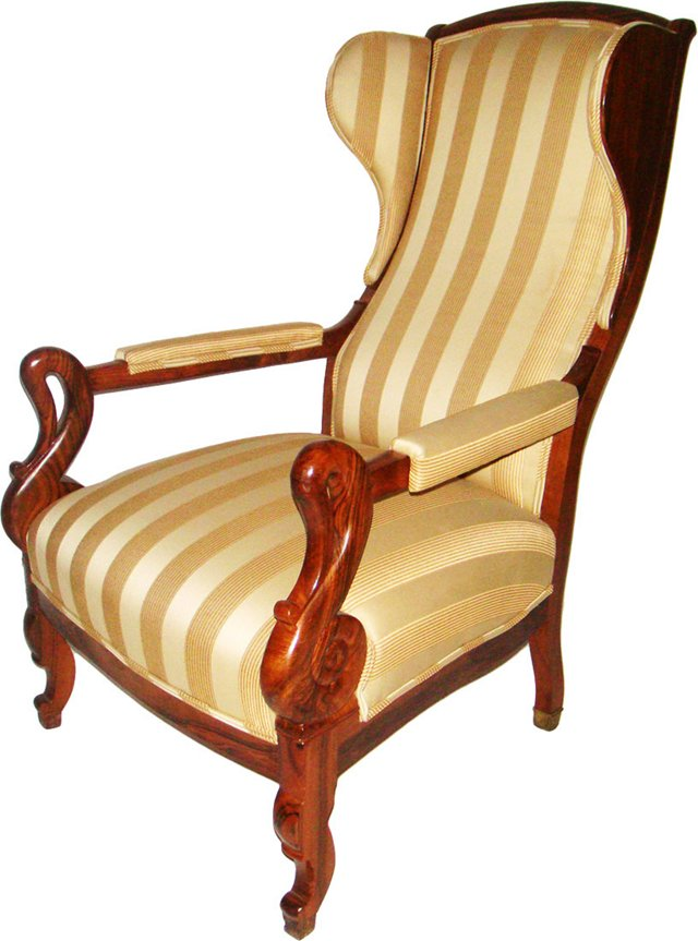 Louis  Philippe  Wingback