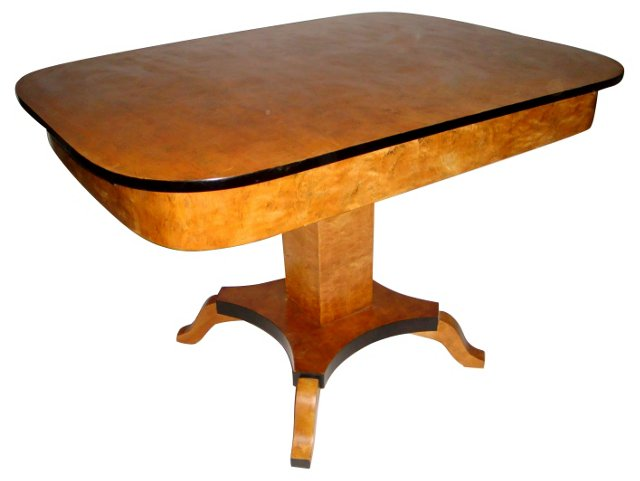 Swedish Biedermeier  Dining Table