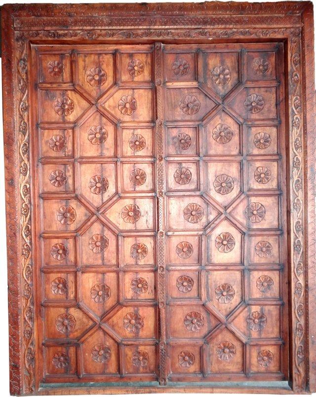 Maharaja Indian Door Panel