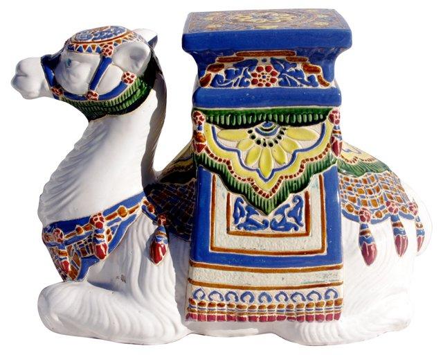 Ceramic Camel Garden Stool