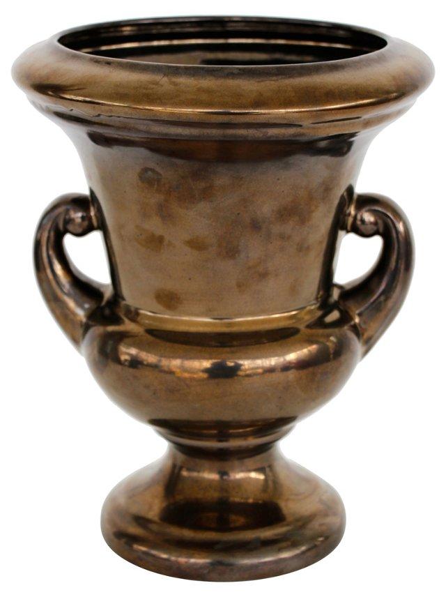 Haeger Ceramic Footed Urn